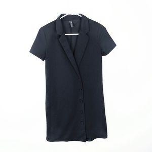 ZARA Short Sleeve Button Down Shirt Dress Small